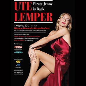 Ute Lemper Pirate Jenny is back
